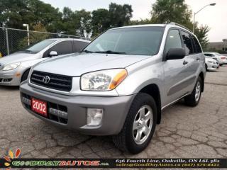 Used 2002 Toyota RAV4 AWD | ALLOY WHEELS | KEYLESS ENTRY | CERTIFIED for sale in Oakville, ON