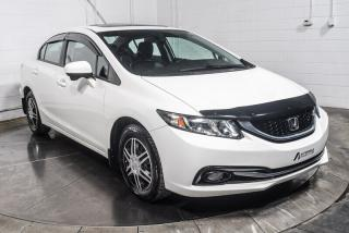 Used 2014 Honda Civic TOURING CUIR TOIT NAV for sale in St-Hubert, QC