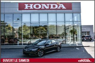 Used 2016 Honda Civic LX - Air clim - Caméra recul - Sieges chauff - for sale in Ile-des-Soeurs, QC