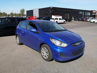 Used 2014 Hyundai Accent GL HATCH A/C BLUETOOTH for sale in St-Hubert, QC