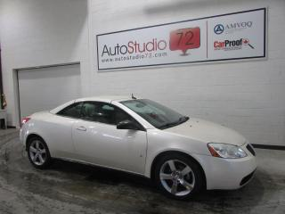 Used 2008 Pontiac G6 Cabriolet GT **CUIR**MAGS 18'' CHROME** for sale in Mirabel, QC