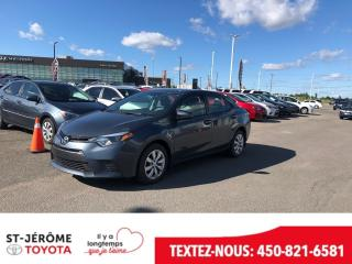Used 2015 Toyota Corolla * LE * CAMÉRA * SIÈGES CHAUFFANT * for sale in Mirabel, QC