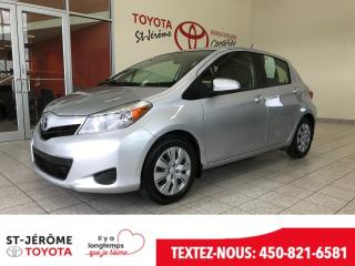 Used 2012 Toyota Yaris * * AIR * GR ÉLEC * for sale in Mirabel, QC