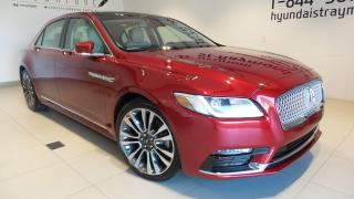 Used 2017 Lincoln Continental Ultra berline 4 portes for sale in St-Raymond, QC