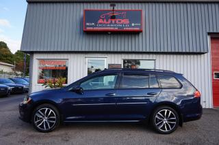 Used 2017 Volkswagen Golf Sportwagen COMFORTLINE TSI 4MOTION CUIR TOIT OUVRANT CAMERA for sale in Lévis, QC