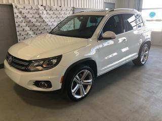 Used 2016 Volkswagen Tiguan R-Line 4Motion for sale in Chicoutimi, QC