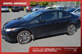 Used 2015 Honda Civic EX *** voiture jamais accidenté*** VENDU for sale in Longueuil, QC