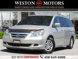 Used 2005 Honda Odyssey EX-L*LEATHER*SUNROOF*SOLD AS IS!!* for sale in Toronto, ON