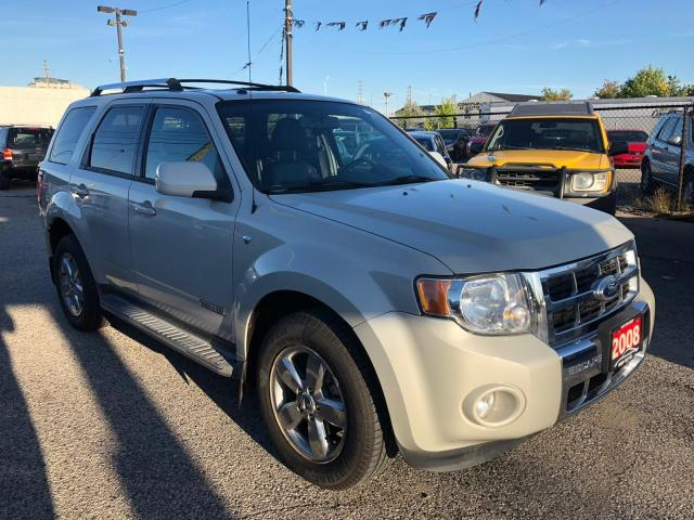 2008 Ford Escape 4WD Limited, LEATHER, 3 YR WARRANTY, CERTIFIED
