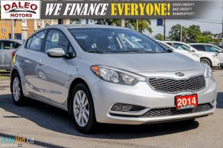 Used 2014 Kia Forte LX | HEATED SEATS | BLUETOOTH | VOICE COMMAND | for sale in Hamilton, ON