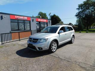 Used 2013 Dodge Journey Crew|SUNROOF|HEATED SEATS/STEERING WHEEL|BLUETOOTH for sale in St. Thomas, ON