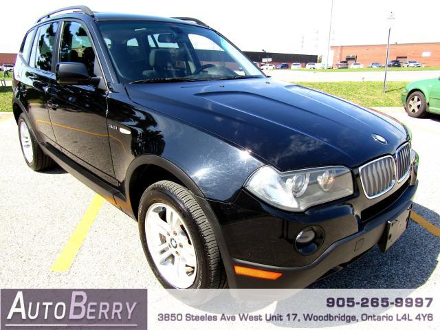 2008 BMW X3 3.0i - AWD