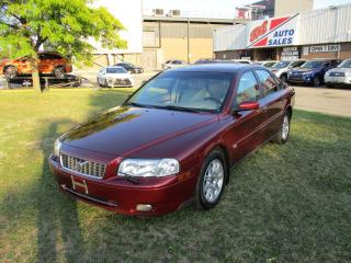 Used 2005 Volvo S80 2.5L~AWD~LEATHER~ALL POWER OPTIONS~CERTIFIED!!! for sale in Toronto, ON