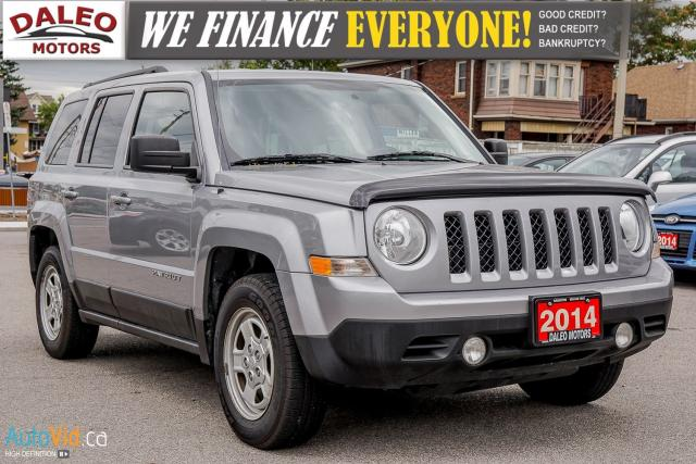 2014 Jeep Patriot NORTH / AUX / CRUISE CONTROL / WE FINANCE!
