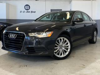 Used 2013 Audi A6 3.0T PRESTIGE|DRIVE SELECT|ONE OWNER|NAV|BLIND SPT for sale in Oakville, ON