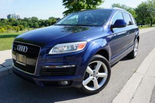 Used 2009 Audi Q7 S-LINE / NO ACCIDENTS / STUNNING / LOCALLY OWNED for sale in Etobicoke, ON