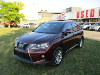 Used 2015 Lexus RX 350 Sportdesign~NAV.~BACK-UP CAM.~LEATHER~CERTIFIED!!! for sale in Toronto, ON