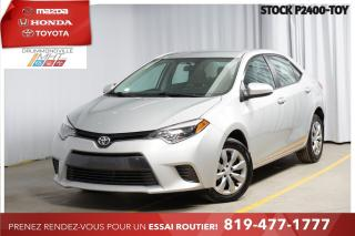 Used 2016 Toyota Corolla LE* CAM RECUL* SIÈGES CHAUFFANTS* for sale in Drummondville, QC
