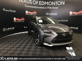Used 2016 Lexus NX 200t F-Sport Series 3 for sale in Edmonton, AB