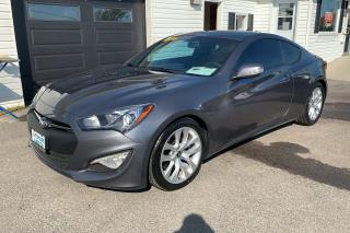 Used 2016 Hyundai Genesis Coupe 3.8 for sale in Kingston, ON
