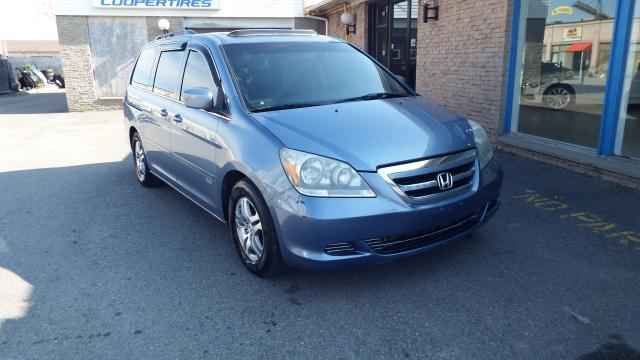 2007 Honda Odyssey EX-L/SUNROOF/LEATHER/HEATED/DVD PLAYER/$4999