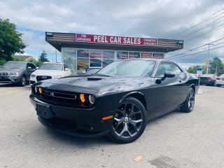 Used 2019 Dodge Challenger SXT|SUNROOF|PWRSEATS|REARVIEW|VENTSEATS & MORE! for sale in Mississauga, ON