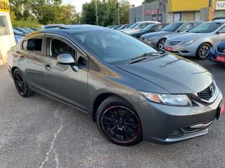 Used 2013 Honda Civic EX/ AUTO/ SUNROOF/ POWER GROUP/ ALLOYS/ HEAD SEATS for sale in Scarborough, ON