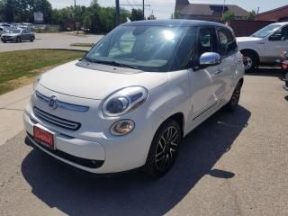 Used 2014 Fiat 500L Lounge Leather+Manual Turbo Fun for sale in North York, ON