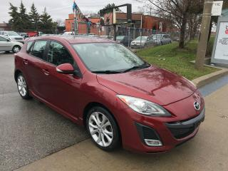 Used 2010 Mazda MAZDA3 S,MANUAL,NAV,SAFETY+3 YEARS WARRANTY INCLUDEd for sale in Toronto, ON