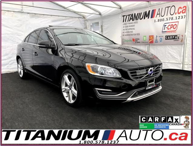 2016 Volvo S60 AWD+GPS+Camera+Blind Spot+Safety PKG.+Sunroof+HID+