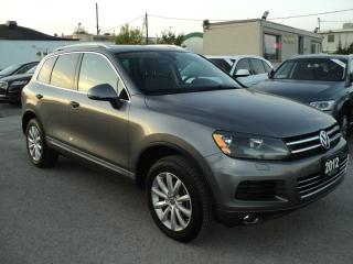 Used 2012 Volkswagen Touareg Highline NAVIGATION,PANORAMIC SUN ROOF for sale in Oakville, ON
