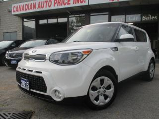 Used 2015 Kia Soul BLUETOOTH-AIR CONDITION-POWER GROUP-FACTORY WARANT for sale in Scarborough, ON