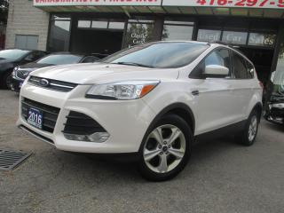 Used 2016 Ford Escape SE-4WD-LEATHER-NAVIGATION-CAMERA-PAN-ROOF-HEATED for sale in Scarborough, ON