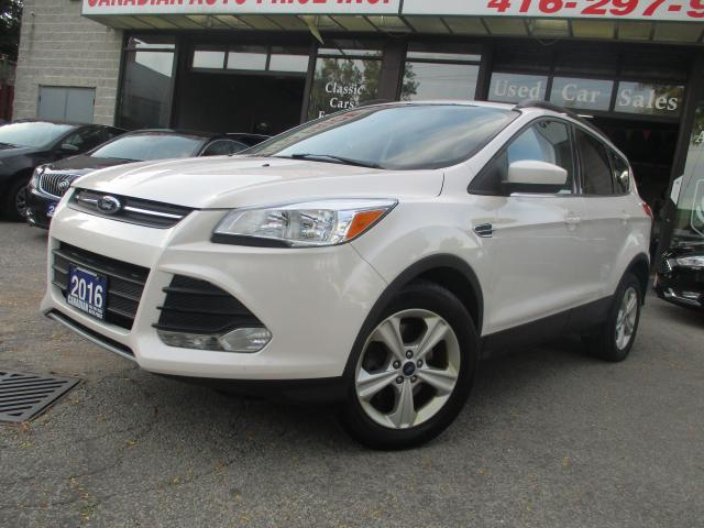 2016 Ford Escape SE-4WD-LEATHER-NAVIGATION-CAMERA-PAN-ROOF-HEATED