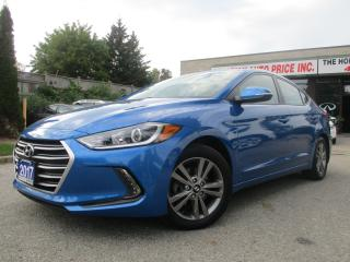 Used 2017 Hyundai Elantra CAMERA-HTDSEATS-BLIND SPOT-ALLOYS-AUTOMATIC for sale in Scarborough, ON