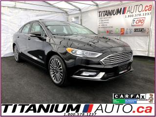 Used 2018 Ford Fusion Energi+Titanium+GPS+Camera+Vented Seats+Blind Spot for sale in London, ON