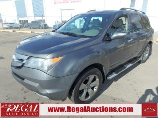 Used 2008 Acura MDX Base 4D Utility AWD for sale in Calgary, AB
