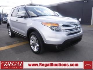 Used 2014 Ford Explorer Limited 4D Utility 4WD for sale in Calgary, AB