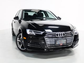 Used 2017 Audi A4 TECHNIK   WARRANTY   NAVI   SUNROOF for sale in Vaughan, ON