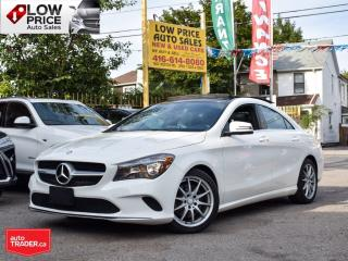 Used 2017 Mercedes-Benz CLA-Class AWD*Navi*PanoramicRoof*Camera*BlindSpot*MBWarranty for sale in Toronto, ON