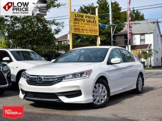 Used 2016 Honda Accord Sedan LX*AllPowerOpti*HtdSeats*Camera*PearlWhite*** for sale in Toronto, ON