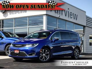Used 2018 Chrysler Pacifica Limited l PANO ROOF l NAV l CO CAR l for sale in Burlington, ON