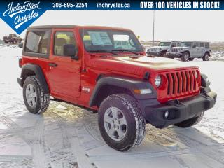 New 2020 Jeep Wrangler Sport S 4x4 | Remote Start for sale in Indian Head, SK