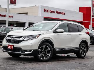 Used 2018 Honda CR-V Touring for sale in Burlington, ON