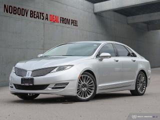 Used 2014 Lincoln MKZ Reserve,Voice Activation,NAV,Pwr Hatch,Regen,EV for sale in Mississauga, ON