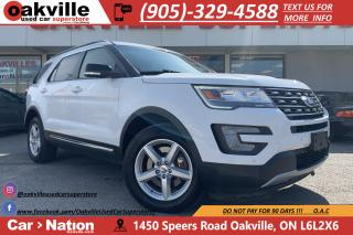 Used 2017 Ford Explorer XLT 4WD | SYNC | CARPLAY | HTD SEATS | B/U CAM for sale in Oakville, ON