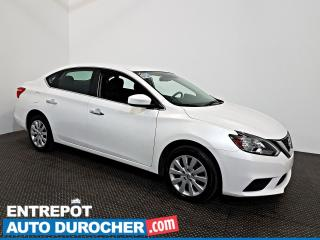 Used 2018 Nissan Sentra SV Automatique - AIR CLIMATISÉ - Caméra de Recul for sale in Laval, QC