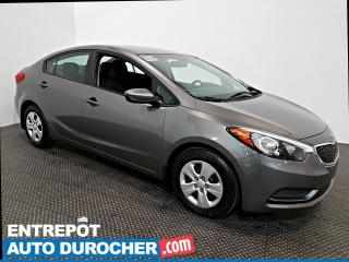 Used 2015 Kia Forte Automatique - AIR CLIMATISÉ - Groupe Électrique for sale in Laval, QC