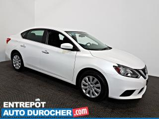 Used 2018 Nissan Sentra SV Automatique - A/C - Caméra de Recul for sale in Laval, QC