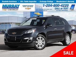 Used 2015 Chevrolet Traverse LT 1LT *Sunroof, Heated Seats, Remote Start* for sale in Winnipeg, MB